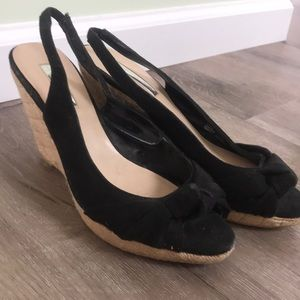 Black H by Halston Wedges